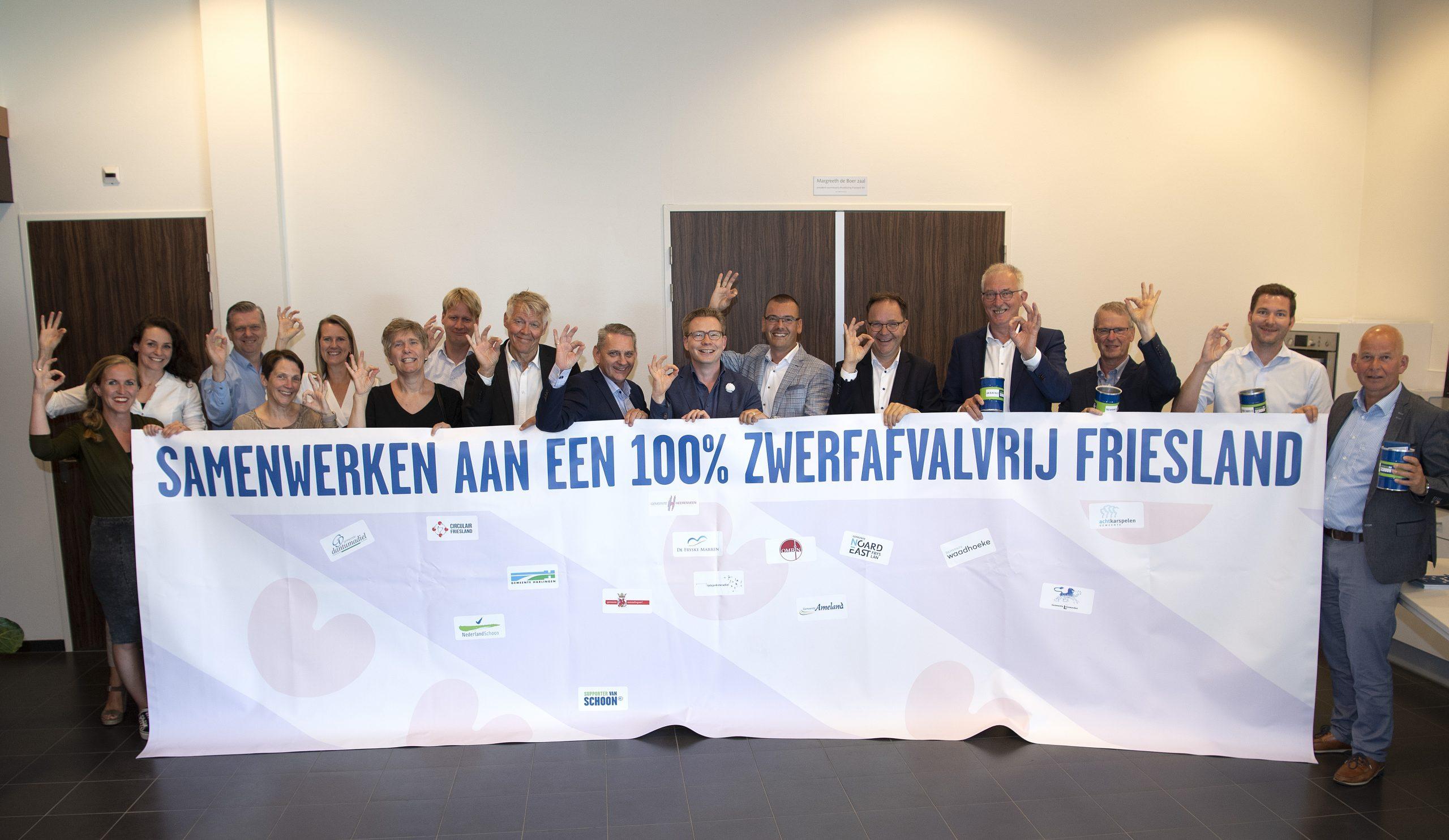 project zwerfafvalvrij Friesland